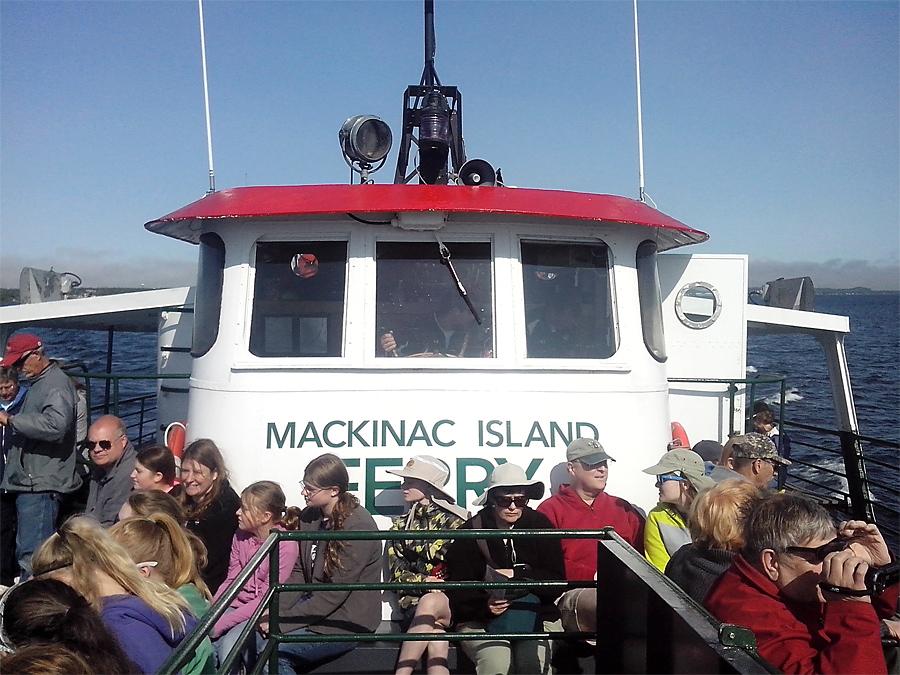 Ferry to Mackinaw Island