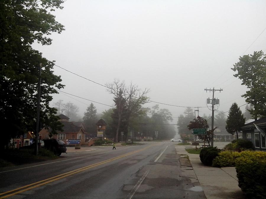 Glen Arbor in fog