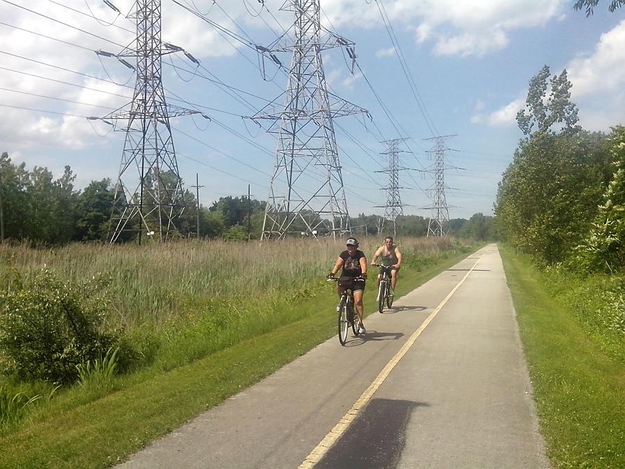 Burnham Greenway Trail into Chicago
