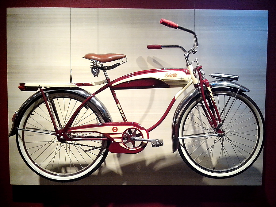 Art of the Bicycle 1955 Columbia
