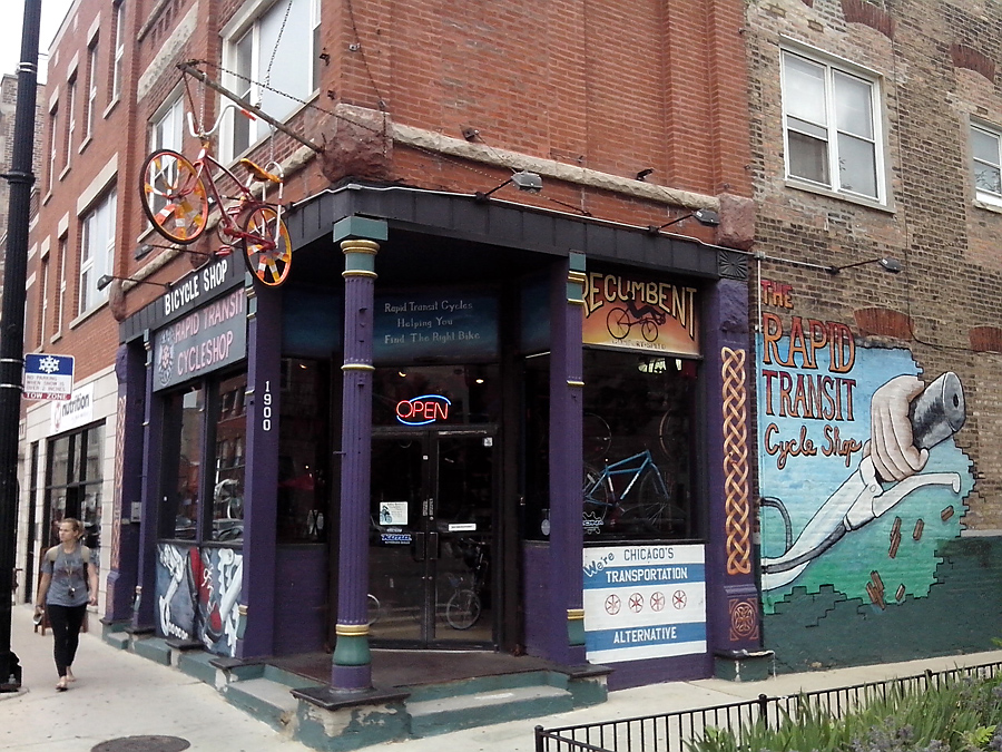Rapid Transit Cycle Shop in Wicker Park