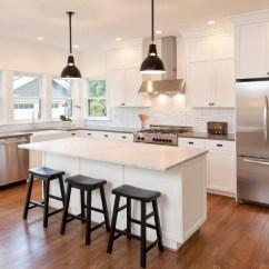 Kitchen Cabinets Update Ideas On A Budget Led Lights Topic 请教 厨房的橱柜 Backsplash Countertop 都选白色系 类似像 类似像图片的样子 大家觉得顺眼吗 我朋友说白色不显高端 请提供意见 非常谢谢