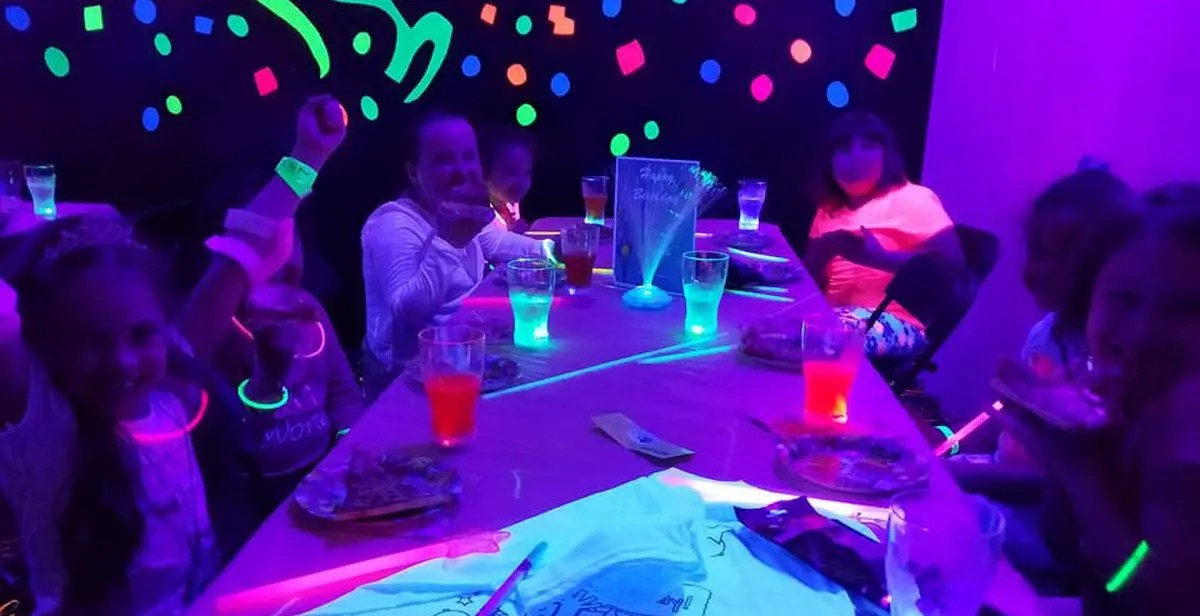 Rollarama Glo Birthday Party