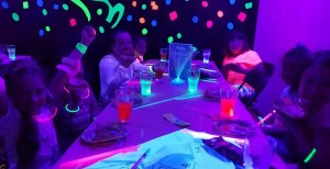 Rollarama Glo Birthday Party