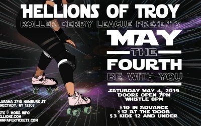 Hellions of Troy vs. Reading Derby Girls