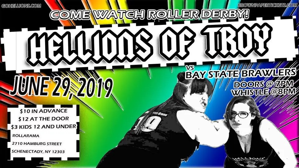 Hellions of Troy roller derby bout