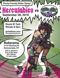 Herculadies vs Hill City Rollers
