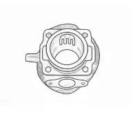 Motor Ersatzteile für Vespa V50, PK50 und XL2 wie Zylinder