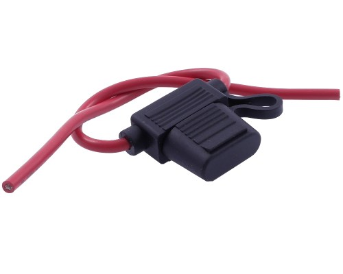small resolution of details about fuse holder with cable for flat fuse scooter moped