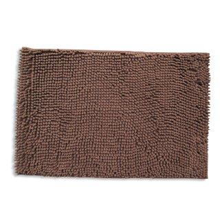 Badteppich CHENILLE - braun - 60x100 cm