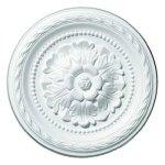 """Deckendeko-Deckenrosette – weiß – Ø 30 cm bei """"Möbel Roller"""" bestellen"""
