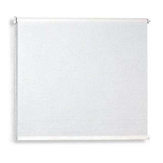 Verdunklungsrollo - weiß - 160x180 cm