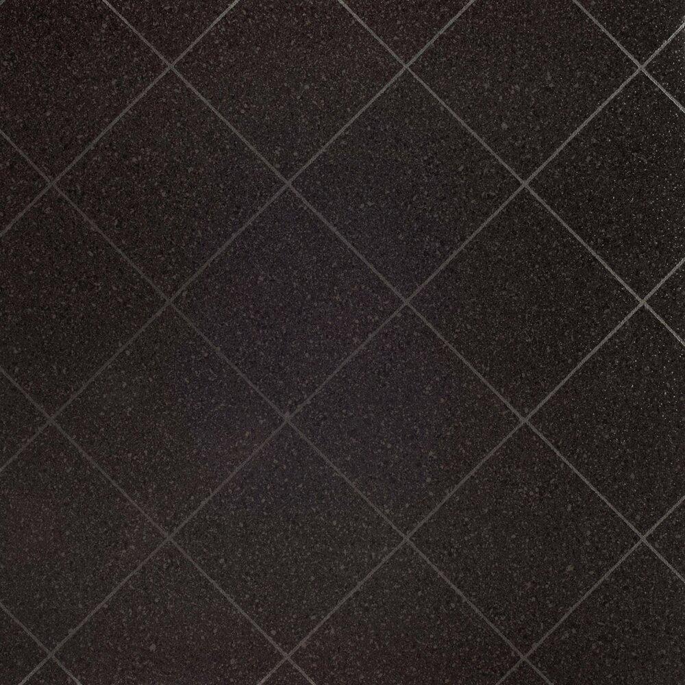 PVCBodenbelag PASSION  schwarz Hochglanz  Fliesenoptik  4 Meter  Online bei ROLLER kaufen