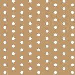 """Stoff – braun – Punkte – Meterware bei """"Möbel Roller"""" bestellen"""