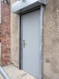 Steel Security Doors & Fire Escapes
