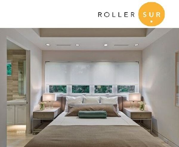 RollerSur  Cortina Roller Lite Screen  S10 Tubo 32 mm