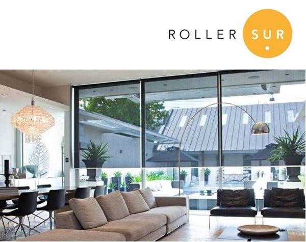 RollerSur  Cortina Roller Sunscreen 10  S15 Tubo 40 mm