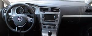 inside a car