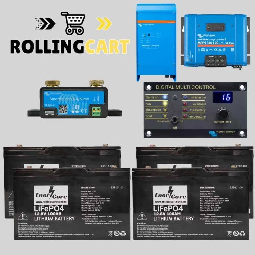 Rolling-Cart-12V-400Ah-Sailboat-Kit