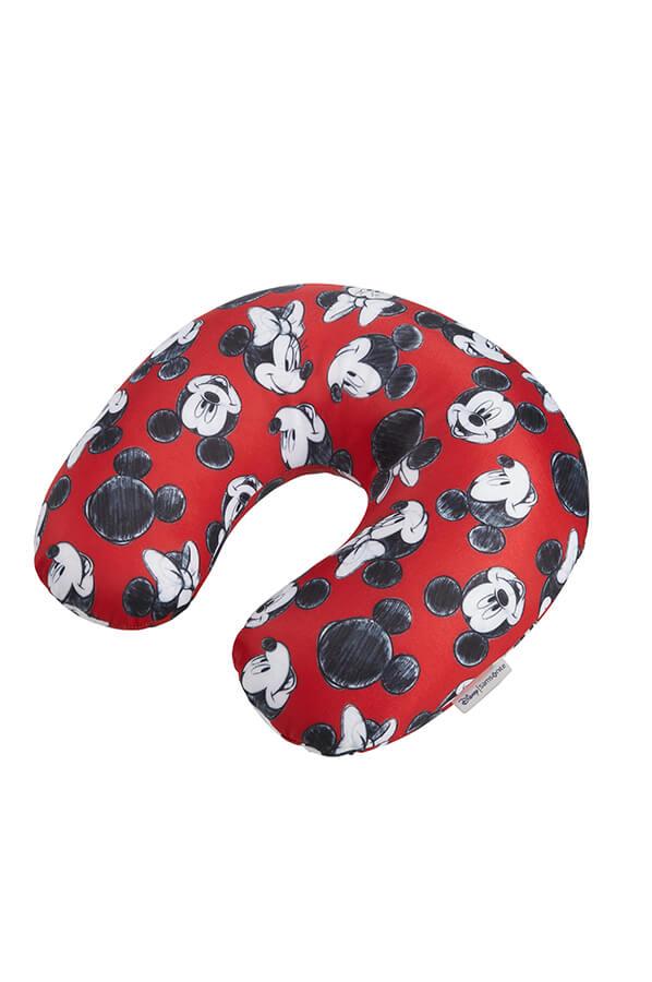samsonite travel accessories pillow mickey minnie red