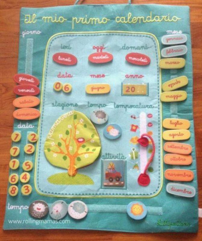 Costruire Calendario Scuola Infanzia.Come Realizzare Un Calendario Perpetuo Rolling Mam S