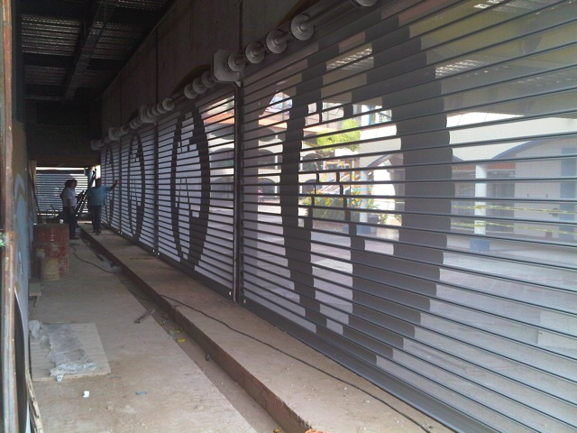 Quality Gates  Grilles  Custom Fabrication  Rolling