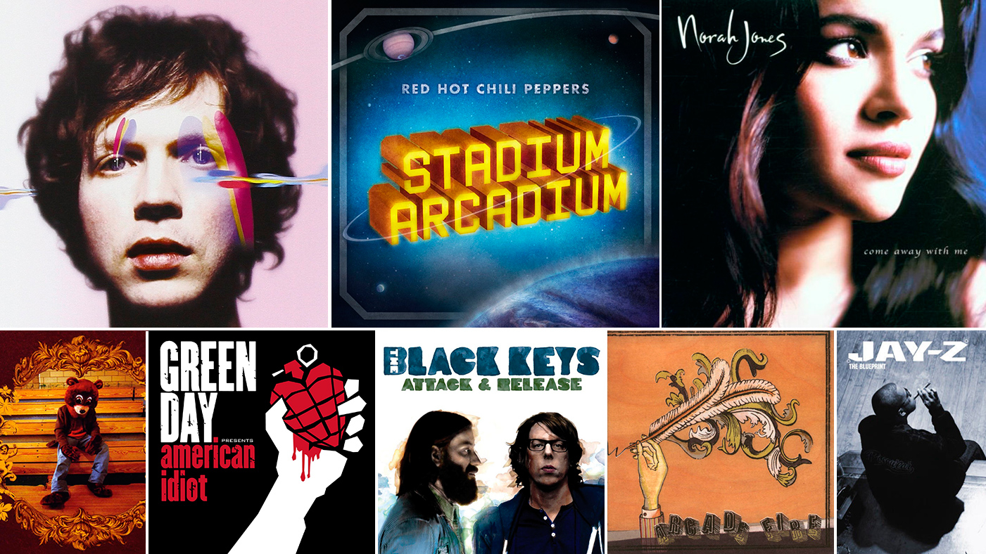 hight resolution of 100 best albums of the 2000s