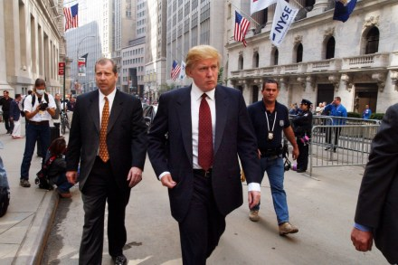 how donald trump cashed