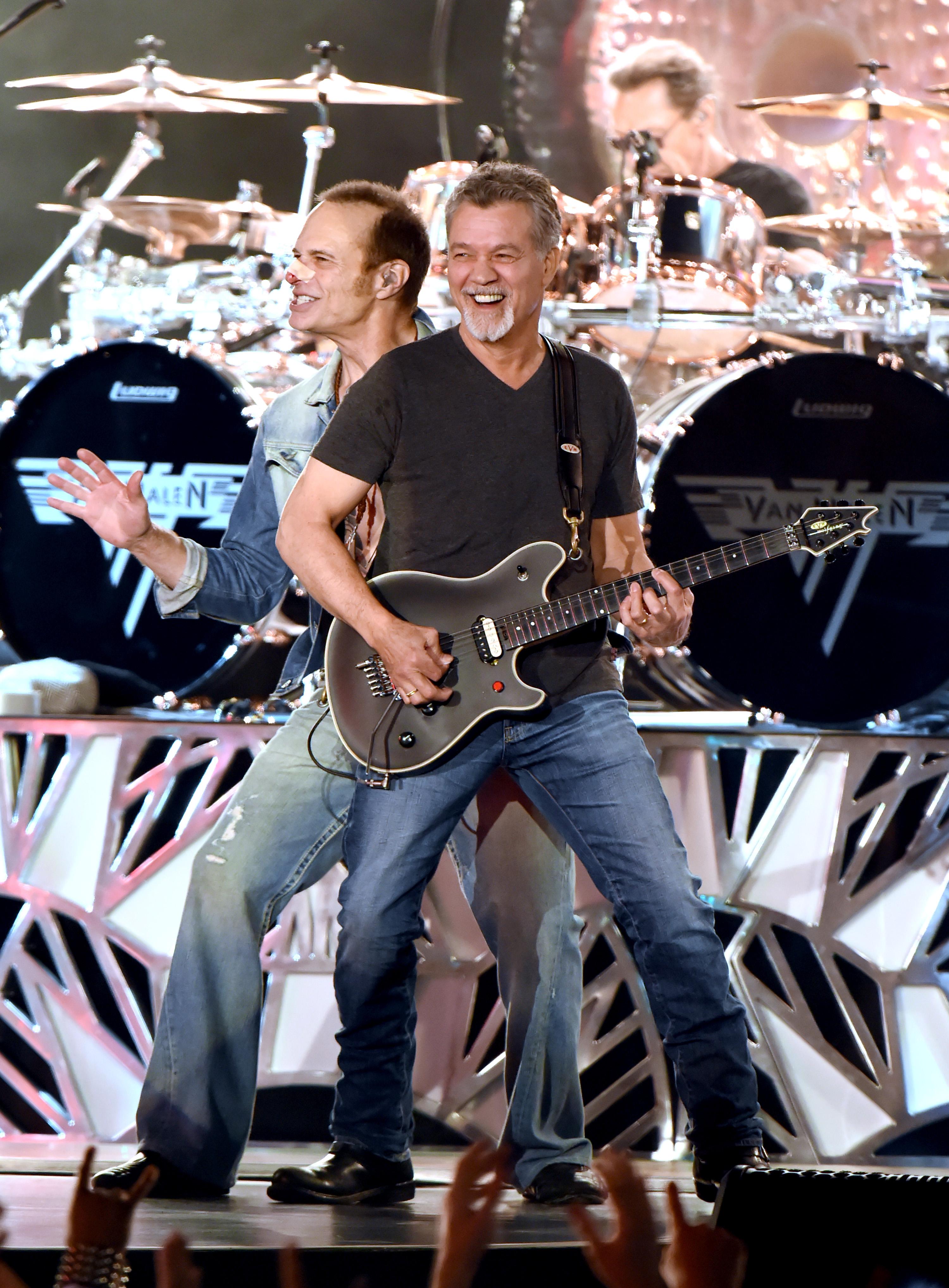 Bloodied Van Halen Play Wild Set On Jimmy Kimmel Live