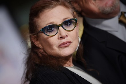 carrie fisher on the