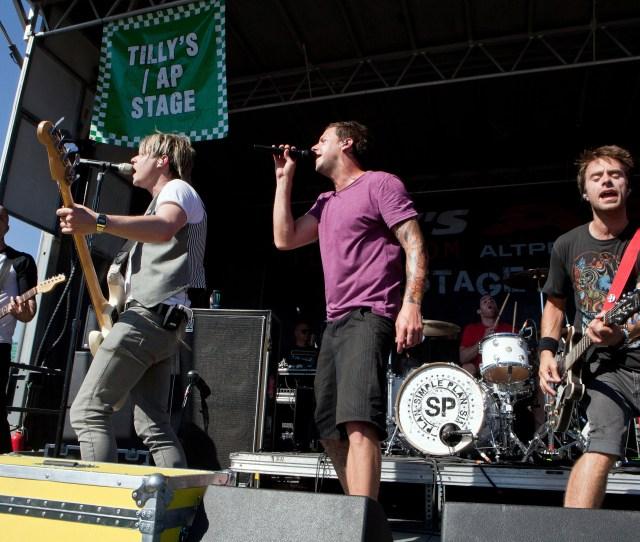 Simple Plan Warped Tour