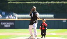 Watch Kanye West Throw Out First Pitch at Chicago White Sox Game