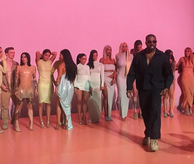 Kanye West Onstage At The Pornhub Awards