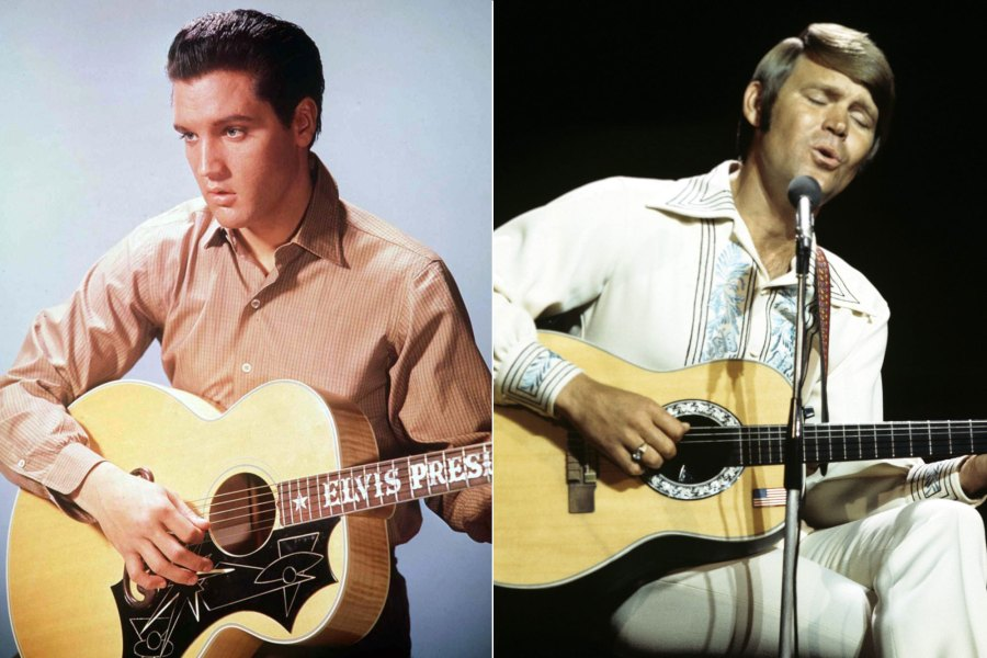 Elvis Presley, Glen Campbell, 'Sings for the King