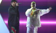 Latin Grammys 2018: See Nicky Jam, J Balvin Perform Charming 'X'