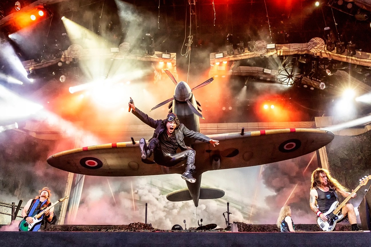 Iron Maiden Plot 2019 Legacy of the Beast Tour  Rolling Stone