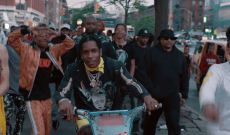 See A$AP Rocky Bike Around New York in Trippy 'Tony Tone' Video