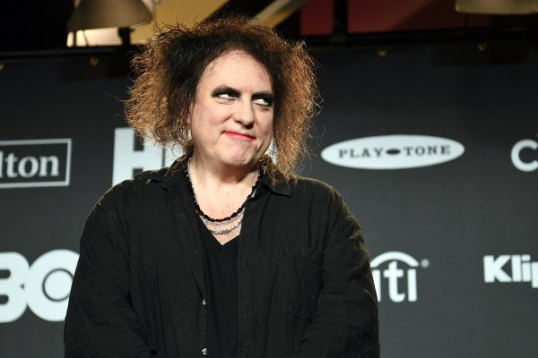 Cure Discography Robert Smith Rolling - Year of Clean Water