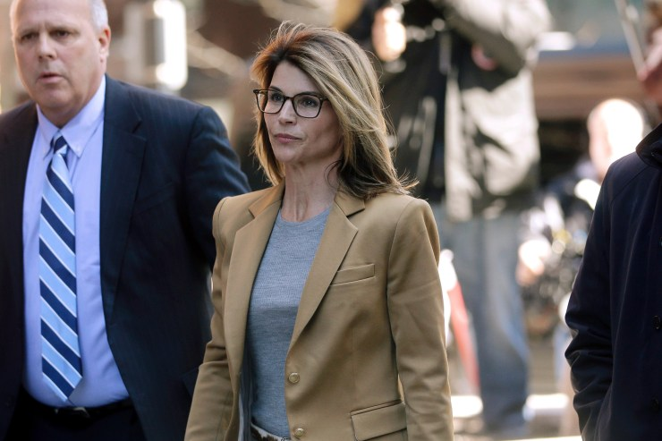 Lori Loughlin arrives at federal court in Boston, to face charges in a nationwide college admissions bribery scandalCollege Admissions-Bribery, Boston, USA - 03 Apr 2019