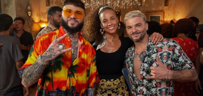 Alicia Keys Goes Bilingual in Pedro Capó and Farruko's 'Calma' Remix