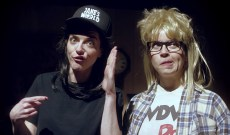 Laura Jane Grace Honors 'Wayne's World' With 'I Hate Chicago' Video