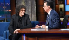 Howard Stern Talks Trump, Hillary, Therapy in 'Late Show' Return