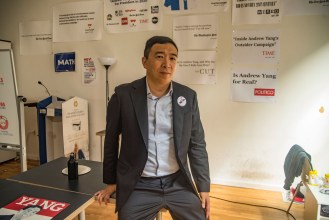 'I Came From the Internet': Inside Andrew Yang's Wild Ride