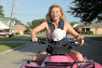 Kirsten Dunst Climbs Pyramid Scheme in 'On Becoming a God in Central Florida' Trailer