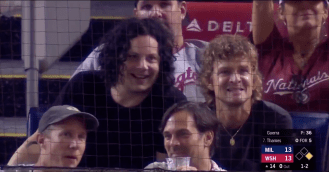 Raconteurs Attend Baseball Game, Perform Concert, Then Return to Game
