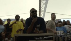 Kanye West Hosts Sunday Service in Dayton, Ohio Ahead of Benefit Concert