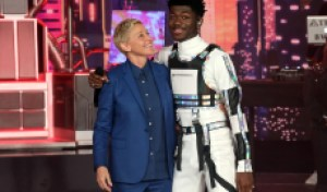 Watch Lil Nas X Go Back to the Future With 'Panini' Performance on 'Ellen'