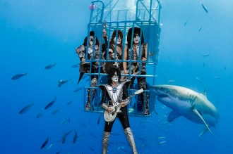 Paul Stanley of Kiss Plans to Shock Great White Sharks at Oceanside Show