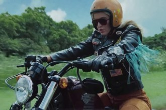 Watch Katy Perry Cruise Heart-Shaped Highway for 'Harleys in Hawaii' Video
