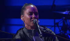 Watch Alicia Keys Perform 'Show Me Love' on 'Kimmel'